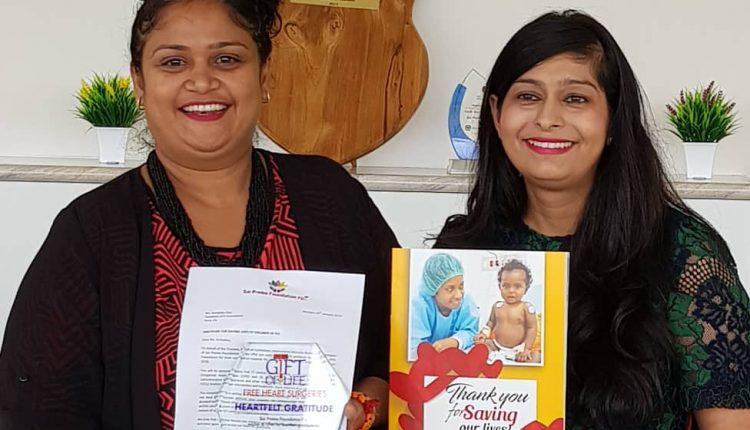Sai Prema Foundation Fiji -Gratitude Award to Vodafone ATH Fiji